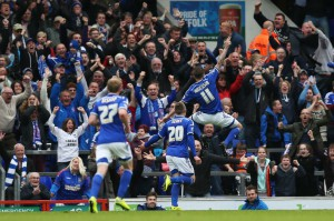 Ipswich 300x199 Wolves Keep The Title Challenge On, Charlton Slip Closer to Relegation
