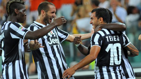 Juventus' achievements the result of collective effort, says Carlos Tevez