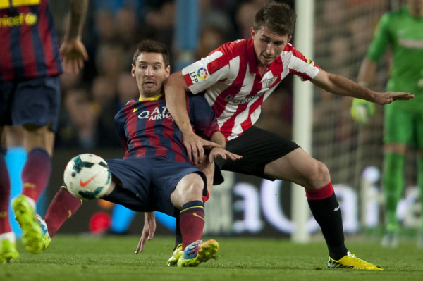 Manchester United target Aymeric Laporte focused on Copa del Rey final