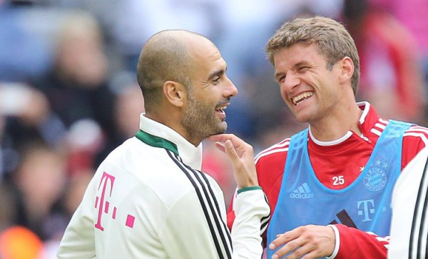 Thomas Müller believes Pep Guardiola's knowledge of Barcelona will prove vital