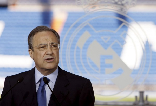 Perez1 600x408 The departures of Ozil and Di Maria prove Florentino Perez sometimes gets it right
