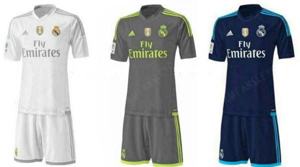 a990a309e Real Madrid s 2015-16 jerseys leaked online  PHOTOS  - World Soccer Talk