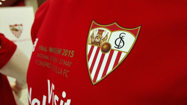 Sevilla unveil limited edition kit ahead of Wednesday's Europa League final