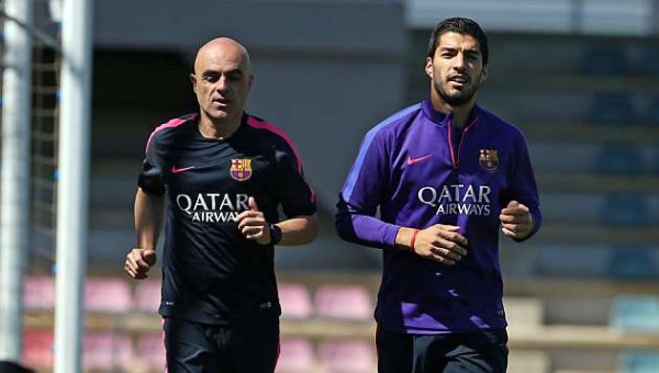 Barcelona taking precaution with Luis Suarez leading up to Copa del Rey final