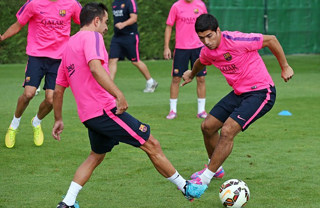 Barcelona confirm Luis Suarez is fit for Saturday's Copa del Rey final
