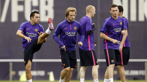Xavi set to start on Saturday while Thomas Vermaelen will make his Barcelona debut