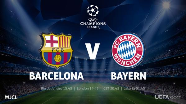 today champions league match result