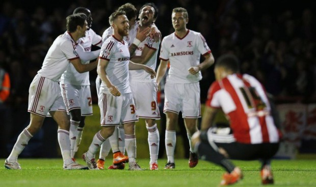 An American travels to see Championship playoff between Brentford and Middlesbrough