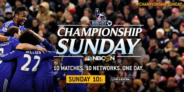 NBC's peculiar 'Championship Sunday' is a misnomer