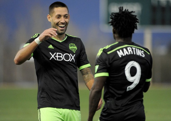 Obafemi Martins and Clint Dempsey are MLS' best strike duo yet; By Steve Davis