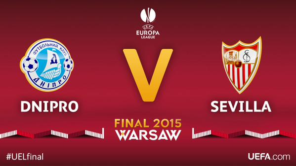 Europa League Final: Sevilla vs. Dnipro: TV times and open thread