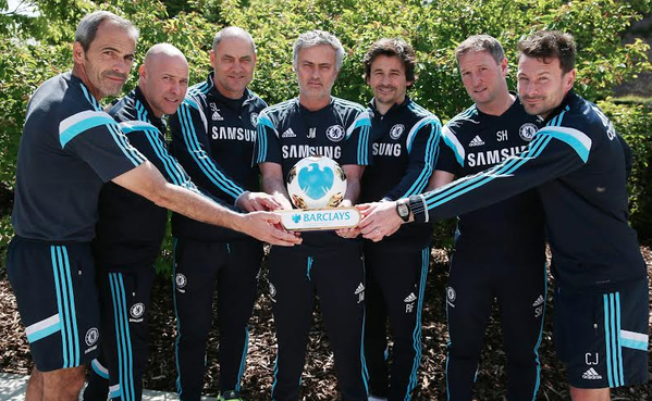 Chelsea boss Jose Mourinho named Premier League manager of the season