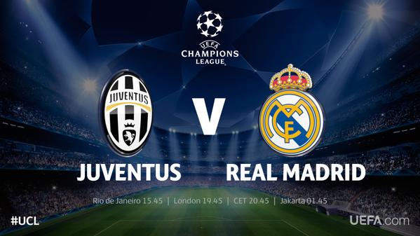 champions league juventus real madrid