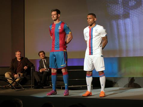 kit launch 4361 2456699 478x359 Crystal Palace unveil home and away shirts for 2015 16 season: Official [PHOTOS]