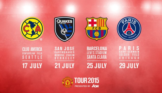 Manchester United to play San Jose Earthquakes at UC Berkeley