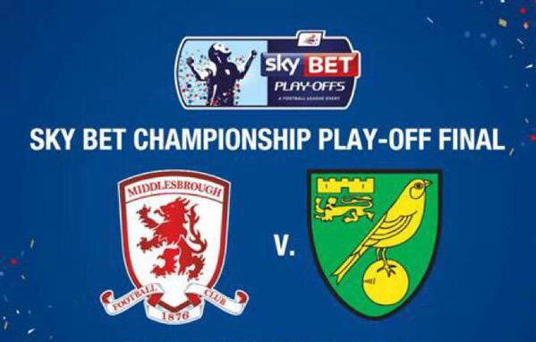 Where to find Middlesbrough-Norwich playoff final on US TV and Internet