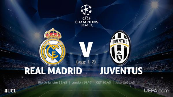 Image Result For Vivo Juventus Vs Real Madrid En Vivo A
