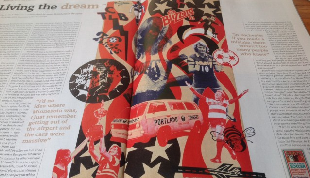 Interview with Ian Plenderleith, author of 'Rock 'n' Roll Soccer: The Short Life and Fast Times of the NASL'