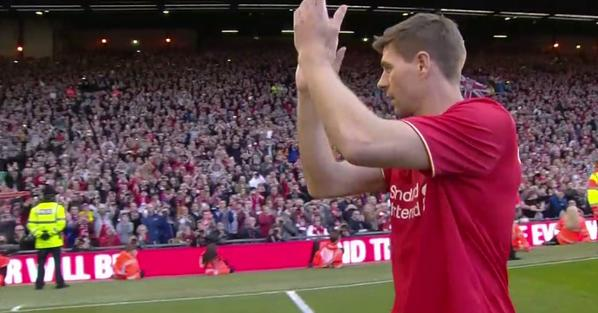 Steven Gerrard is ready for his final Liverpool farewell