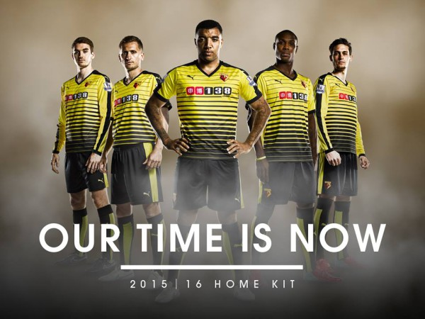Watford's home shirt for 2015-16 season from Puma: Official [PHOTOS]