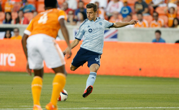 Kristian Nemeth is proving his worth with Sporting KC