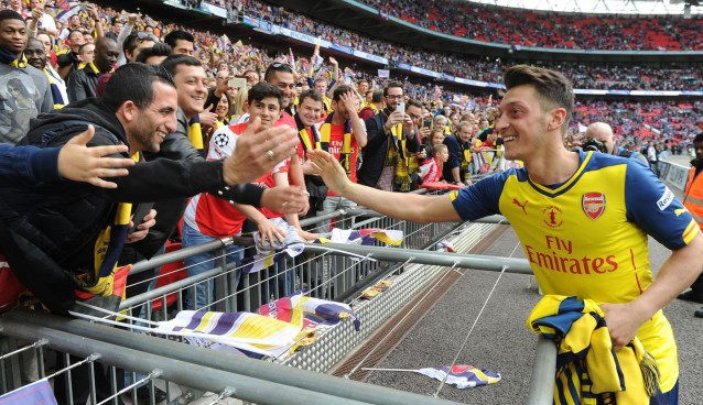 Rejuvenated Mesut Ozil will be key to Arsenal's title challenge in 2015/16