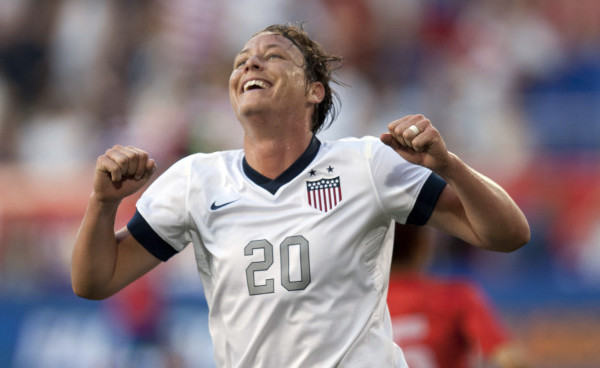 USWNT's Abby Wambach under pressure ahead of match against Sweden