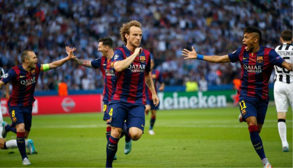 Ivan Rakitic proves a vital cog to Barcelona's success