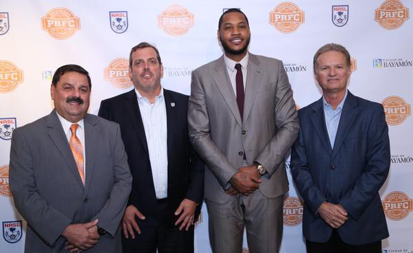 Carmelo Anthony owned NASL club in Puerto Rico yield questions of viability