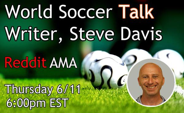 Ask Steve Davis your US soccer-related questions in today's Reddit AMA