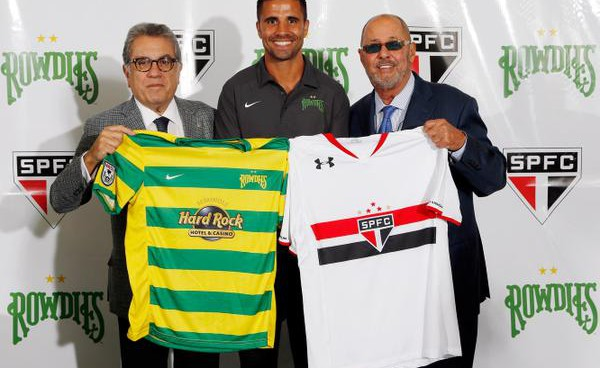 Tampa Bay Rowdies strike partnership with Brazilian club São Paulo FC