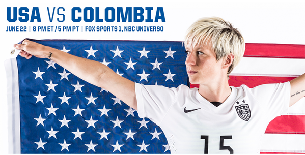 USA v. Colombia preview, TV times and open thread