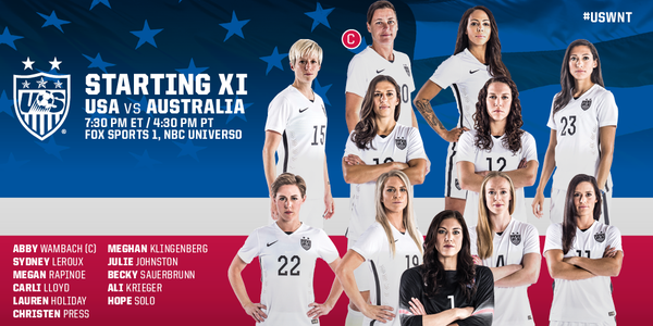The Us Women S National Team Has Been Waiting Four Years To Get Play In Another World Cup Match Try Avenge Its Loss From 2017