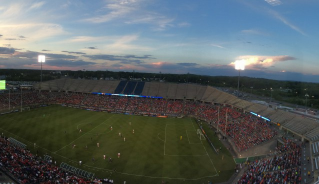 Benfica vs. Fiorentina: Adventures on the road with the International Champions Cup