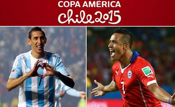 Chile vs Argentina: Copa America final preview and TV times