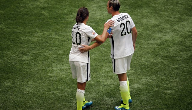 In passing the torch from Abby Wambach to Carli Lloyd, the US found its killer instinct