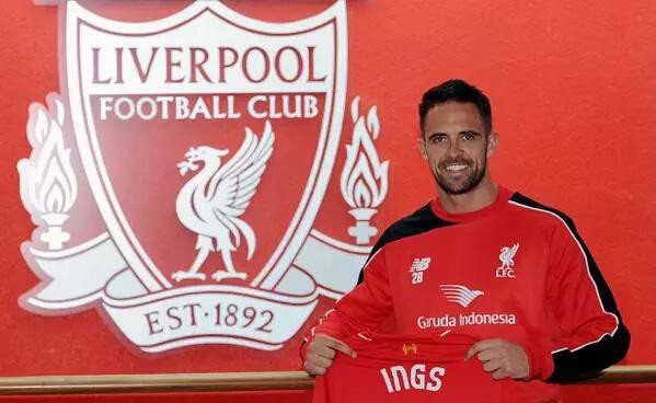 Liverpool striker Danny Ings out for the rest of the season with injury