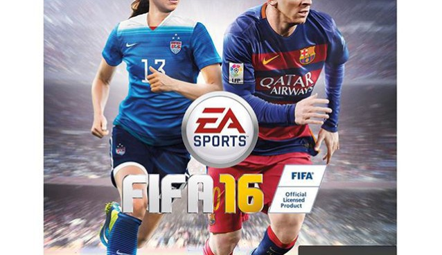 Alex Morgan to be featured on FIFA 16 cover with Messi