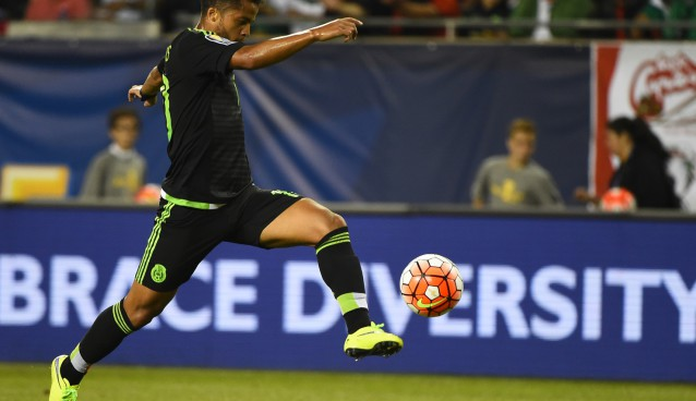 Muscle strain will keep Giovani dos Santos out of Saturday's CONCACAF Cup