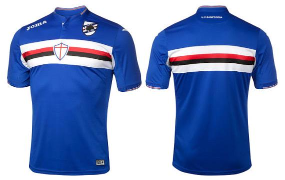 Sampdoria's jerseys play chants when club crest is pressed [VIDEO]