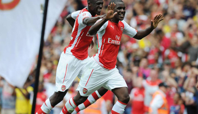 Arsenal's forgotten men Yaya Sanogo and Joel Campbell not ready for the first team