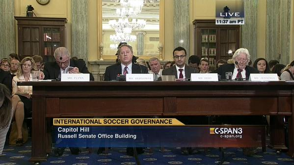 Choice quotes from US Senate panel hearing into soccer corruption