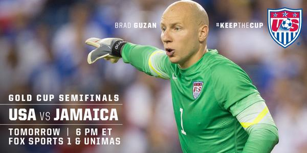 USA vs. Jamaica Gold Cup semi-final preview