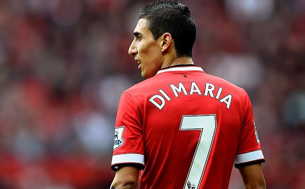 Angel Di Maria never lived up to legendary Manchester United no.7 status