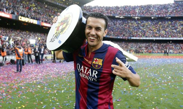 Manchester United and Barcelona reach £22.3 million agreement for Pedro