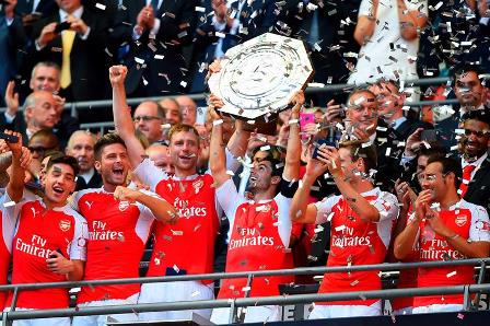Arsenal 1-0 Chelsea Community Shield match highlights and player ratings