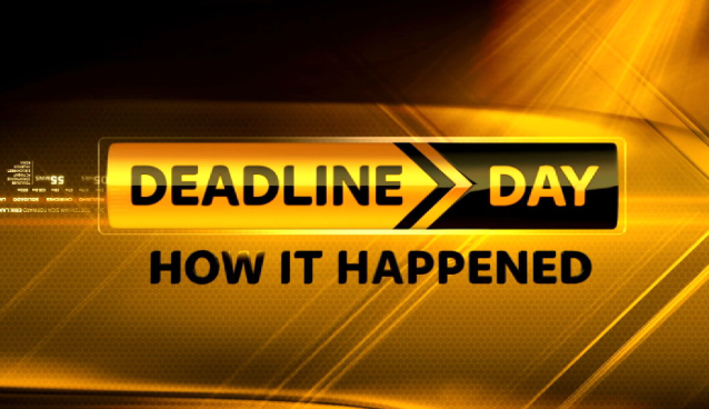 Roundup of completed  transfer deadline day deals