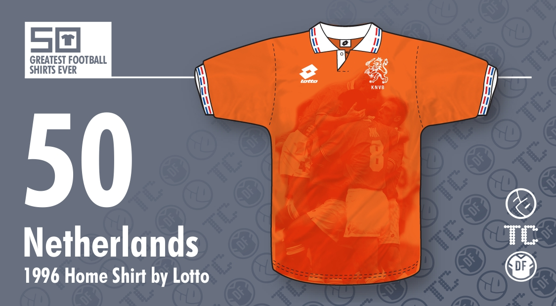 new style e40f7 7f23e The 50 greatest soccer jerseys ever, as judged by design ...