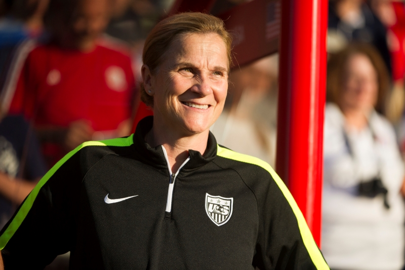 United States Head Coach Jill Ellis