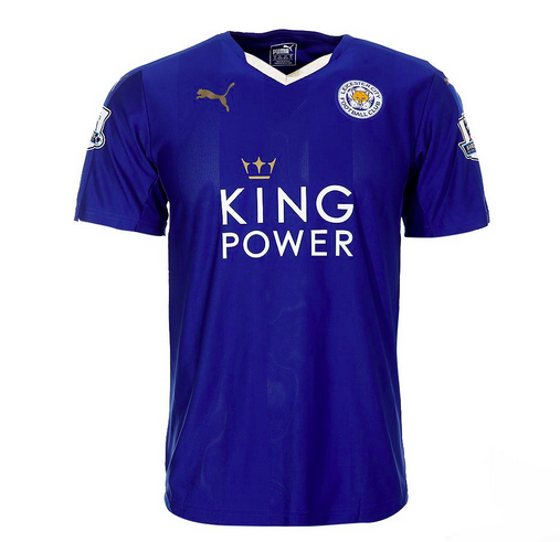 leicester city home jersey